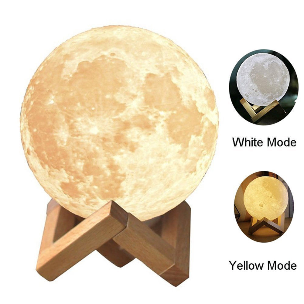 China factory price home decorative LED ceiling light 3D moon lamp LED light for home