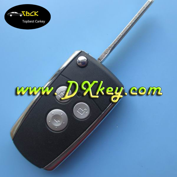Hot sale 3 button car keys shell for toyota smart key Corolla toyota key