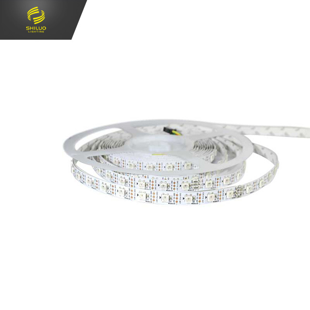 DC5v 5050rgb flexible professional led strip lighting, ws2812b, ip67 waterproof, 10mm pcb, CE RoHs