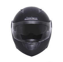 HD Hot Selling Flip up Double Visor Matte Black off Road Motorcyle Helmet for Motorcycle Bike