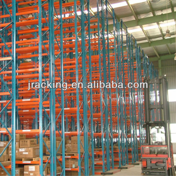 Top selling Jracking forklift/manual hydraulic trolley accessible racking shelving used pallet rack shelving