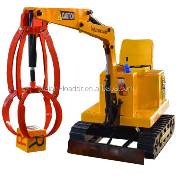 coin operated kids toy excavator TY-7