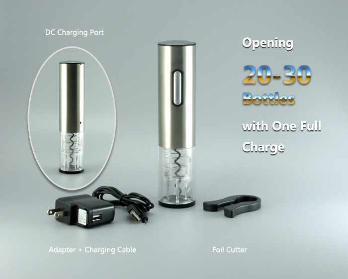 High Class Stainless Steel Electric Bottle Opener