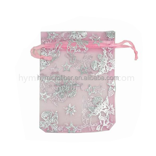 Fabric Printing Personalized Organza Bags