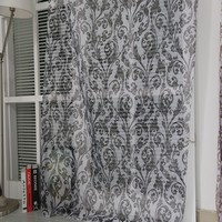 Hot selling European dinning room polyester sheer printed curtain drapery in Shaoxing