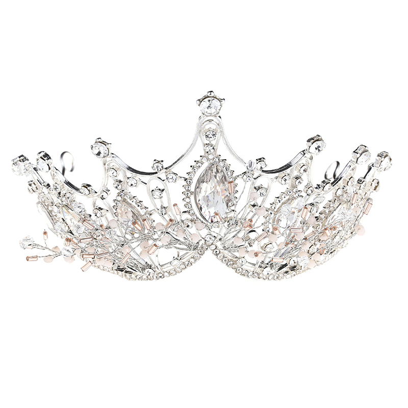 Wholesale high quality baroque crystal ballet <strong>crown</strong> tiaras bride wedding queen <strong>crown</strong>