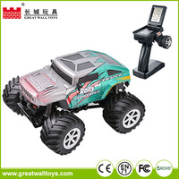Funny 4WD big wheels off road 1:34 rc truck joystick radio remote control car
