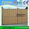 wood plastic composite wpc fence panel / wpc post easy install