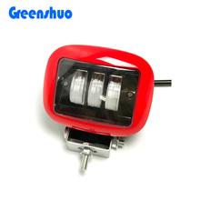 Black/Red 4.5 Inch driving light 30w fog light Jeep Wrangler led lamp 24v truck work light