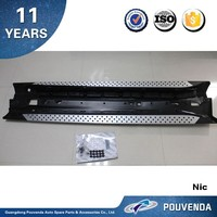 Aluminium Running Board Side Step for BMW X6 E71 Side step bar Auto accessories from Pouvenda