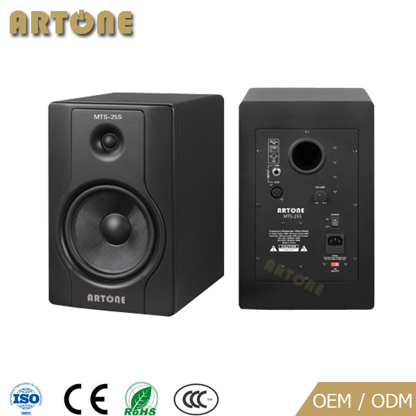 MTS-25S Professional china best selling Powered stage Active Studio audio Monitor speakers
