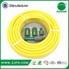 "1/2"" polyester fibre reinforced 50 metre PVC garden hose with spray nozzle set"