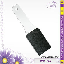 #NF-122 white double-sided foot file Callus Remover Pedicure Foot File