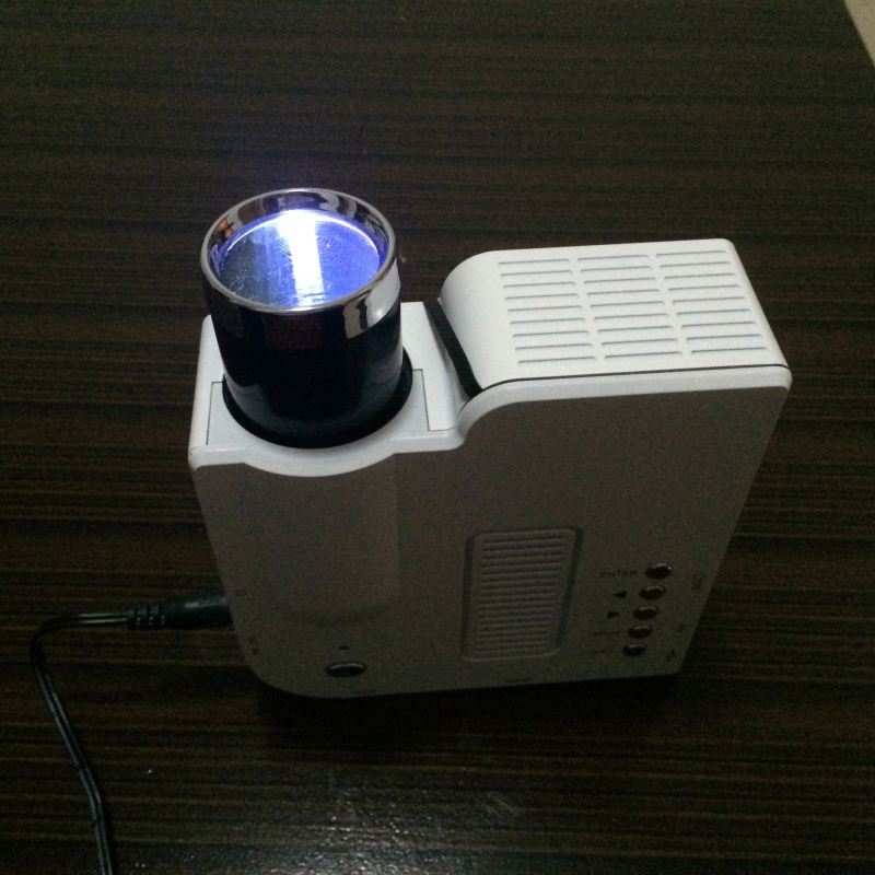 2014 Hot sale mini projector cheap and small led projector constellation projector lamp