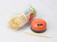 China supplier two point toothpicks, disposable bamboo toothpicks wholesale