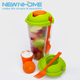 Cheap Plastic Salad Dressing Bottles Cup Portable Salad Bottle