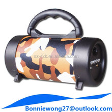Portable outdoor wooden box wireless bluetooth radio speaker with usb port and tf sd memory card slot mp3 music player