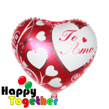 18 inch Heart Foil Helium Balloon,Mother's Day Foil Balloon Decoration