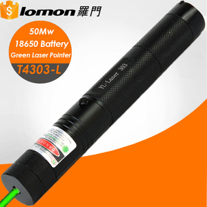 T4303-L Wholesale 532nm 50mw High Power Japan Rechargeable Battery Burning Free Jd 303 Green Laser Pointer