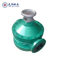 Mechanical fuel oil engine oil/diesel flow meter