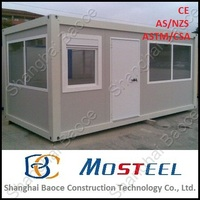 shipping low cost portable modern prefab house contemporary