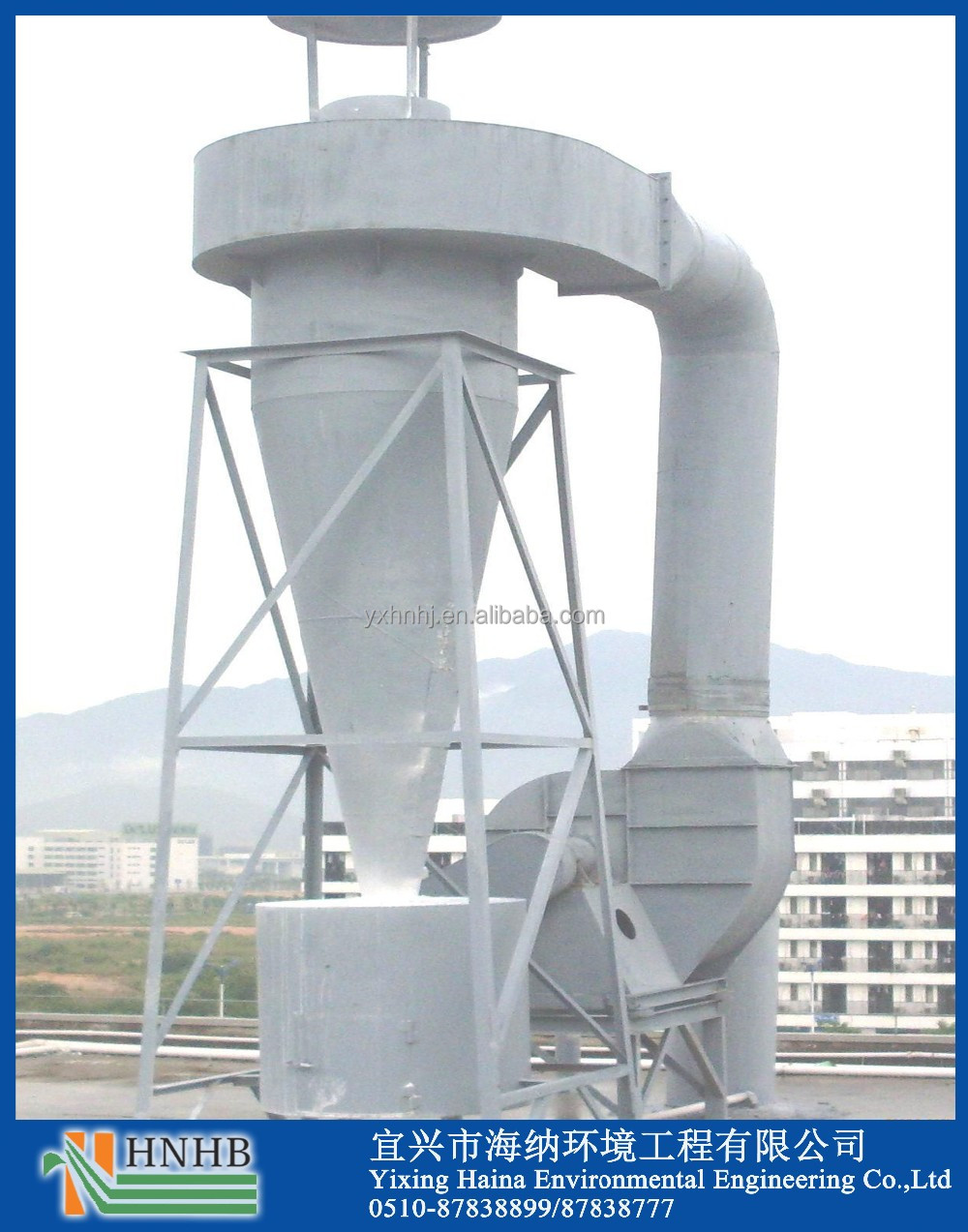 Most Cost Efficient Industrial Air Cyclone Separator for Cement and Chemical Industry