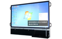 6 point 42-84 inch infrared multi touch screen smart TV ir touch pc led lcd screen with CE, FCC, ISO