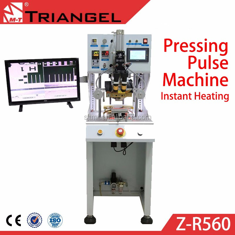 Automatic pressure machine ACF / FPC bonding Press phone flex Repair FPC Flat Cable