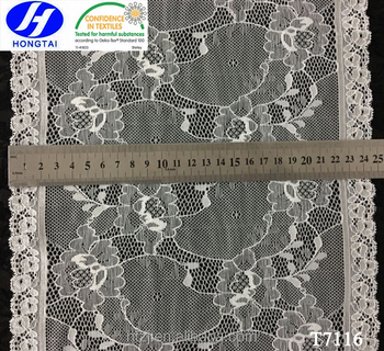 Gorgeous Wide Width Elastic Lace Trim for Women's Undergarments