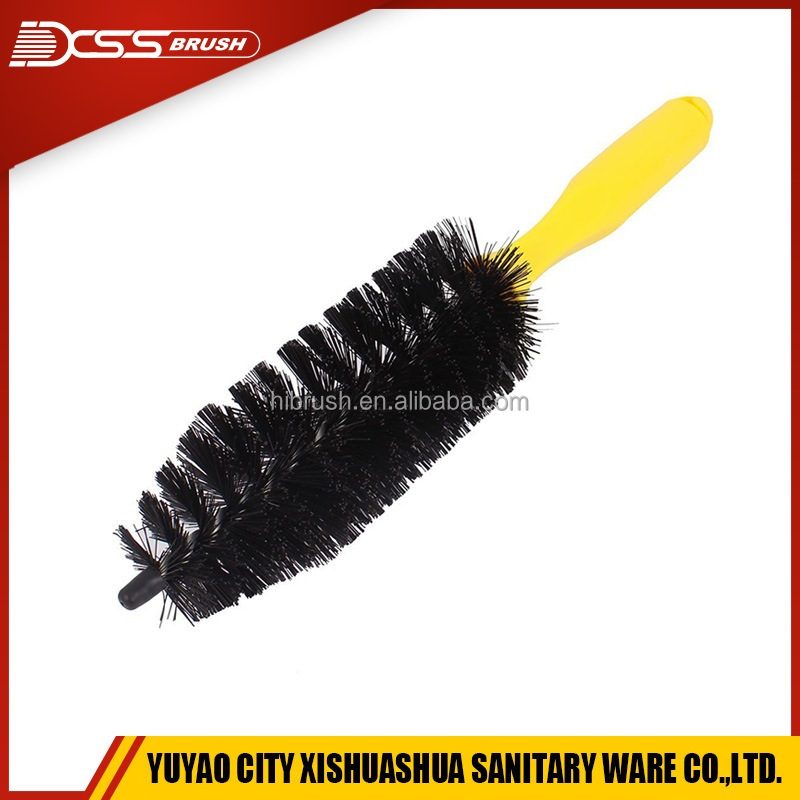 Vehicle/ Motorcycle alloy wheel cleaning brush, motor cleaning brush