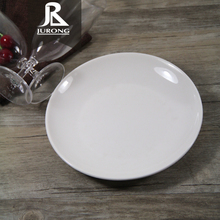 Wholesale eco-friendly food serving custom white charger melamine round <strong>flat</strong> plate