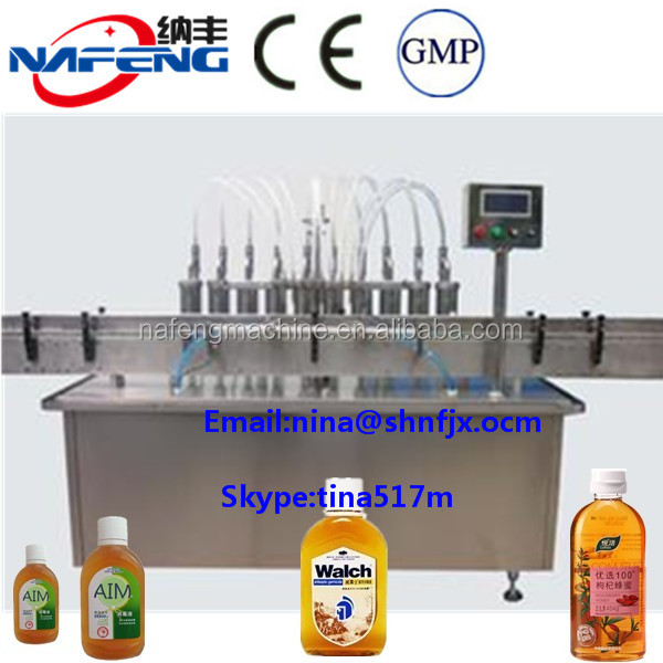 High Quality Both Cream Filling Production Line/Body Wash/Shower Gel Filling Capping Machine