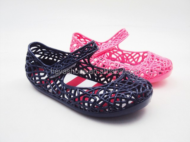 China Promotional PVC Fashion Kids Jelly Shoes