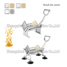 stainless steel horizontal manual perfect french fry Mini Potato Cutter / Vegetable Chopper / Potato chipper