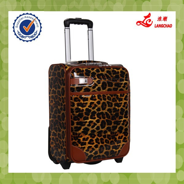 Carry On Type and Men Department Name Leopard Material Luggage
