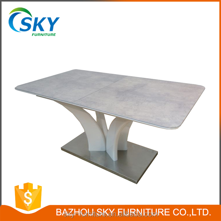 10 seater white round dining table price