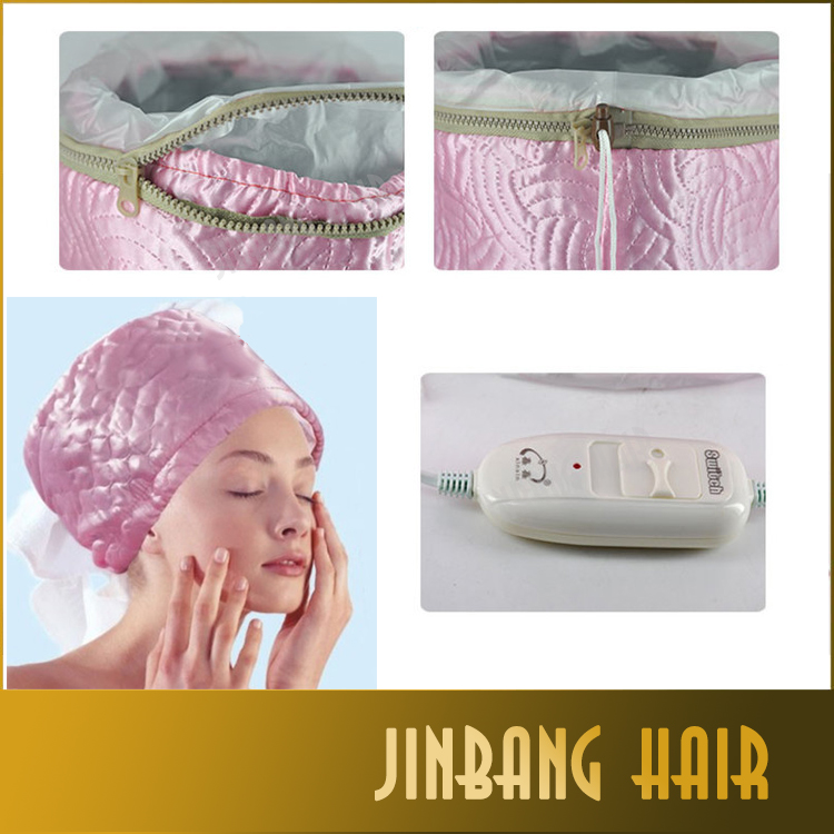 Electric hair heating cap for salon/home use