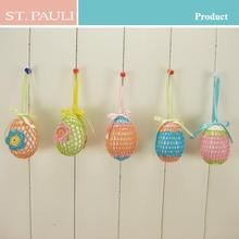 kids suprise hanging colorful foam easter egg toy