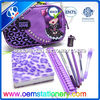23*13.5*5cm nylon zipper pencil case / personalized kids stationary
