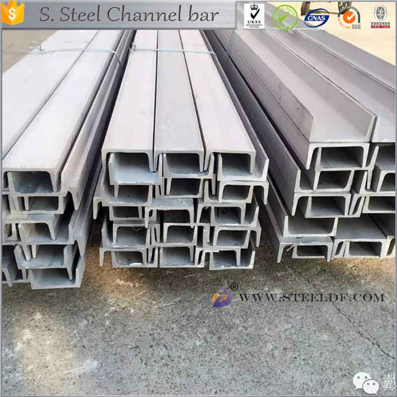 Hot selling 301 stainless steel channel steel with high quality
