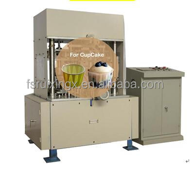 Automatic italy technology plum cake mold bakery cake cup making machine Near GuangZhou in Foshan