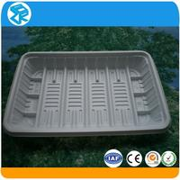 china supplier PET plastic printed food tray with cover