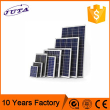 Competitive price customized 130w daylight poly solar panel