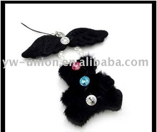 black bear joint bear doll with heart