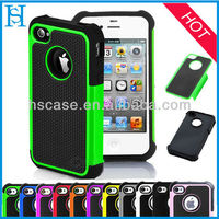 hybrid combo rugged rubber matte hard case for iphone5 5s
