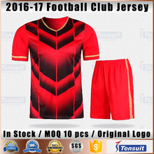 Cheap wholesale fans football kit custom soccer kids uniform thailand grade national team dry fit soccer tops sports clothing