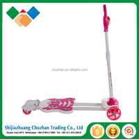 cheap and good quality kids toys scooter for children with PU wheel