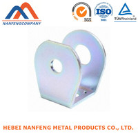 Sheet Metal Corner Brackets Decorative Furniture Sheet Metal Punching Corner Bracket