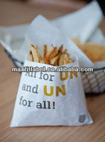 2014 factory directly custom magnetic french fries paper bag