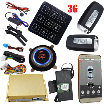 Gps Auto Tracking Vehicle Security Alarm System Mobile App Central Lock Or Unlock